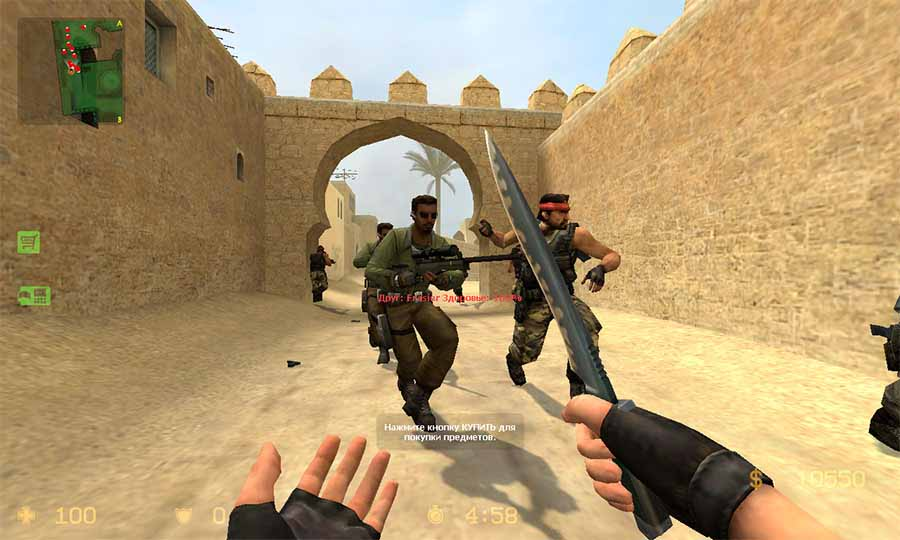 counter strike source скачать последнюю версию без смс